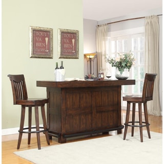 Whitaker Furniture Gettysburg 3-piece Bar and Stool Set