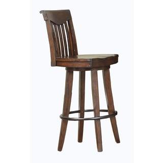 Whitaker Furniture 30-inch Classic Swivel Bar Stools (Set of 2)