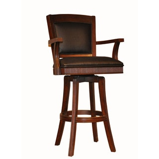 Whitaker Furniture 30-inch Classic Tobacco Finish Bar Stool