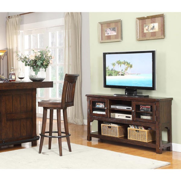 Whitaker Furniture Gettysburg 58-inch Entertainment Cart