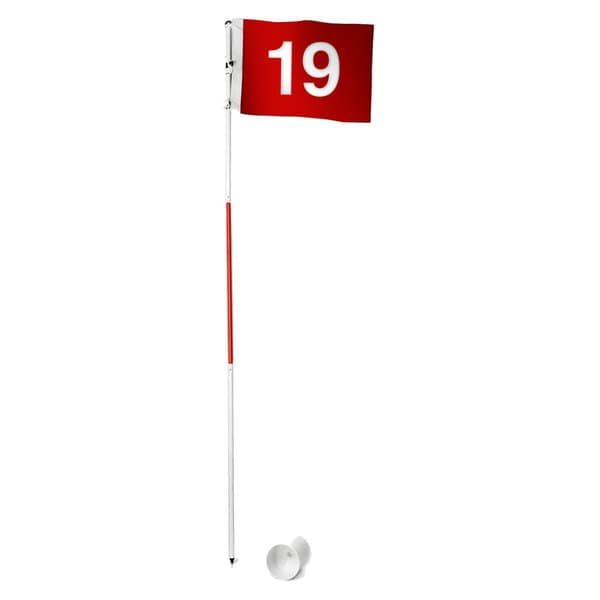 Tour Gear Portable Golf Flag with Cup 13799436