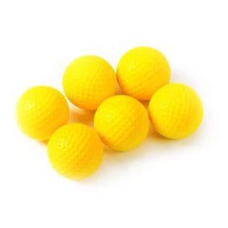 Tour Gear PU Foam Practice Golf Balls (Pack of 6)