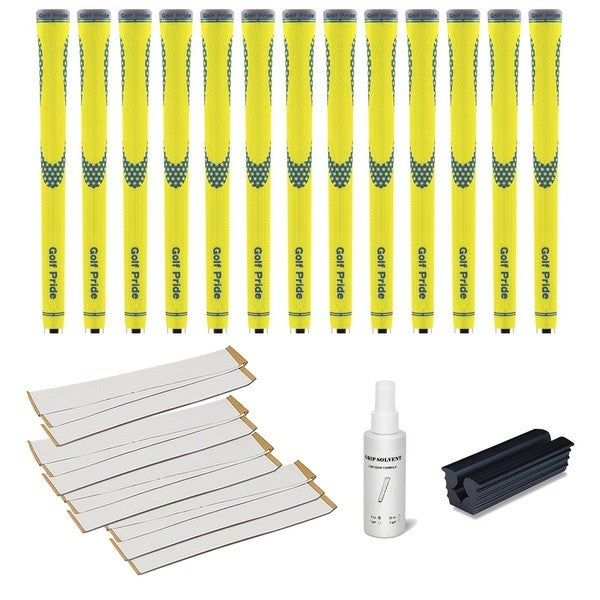 Golf Pride Niion Yellow/ Blue 13-piece Grip Kit