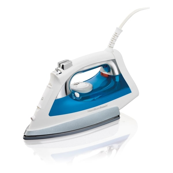 Hamilton Beach Ceramic QuickGlide Iron with Wear-Resistant Soleplate