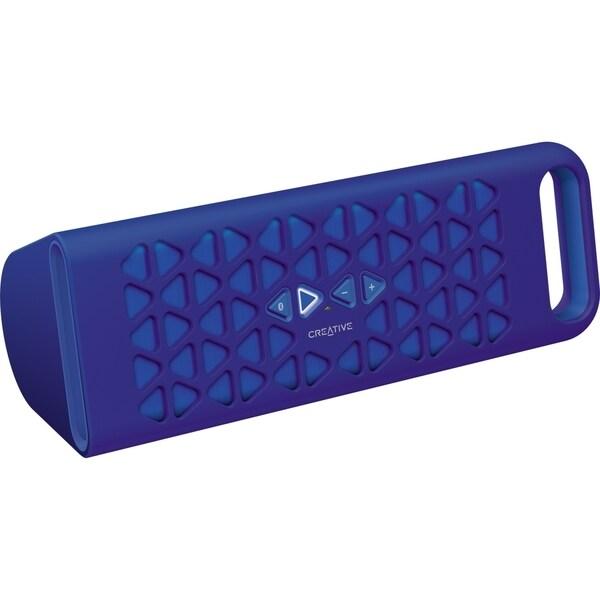 Creative MUVO 10 Speaker System - Wireless Speaker(s) - Blue