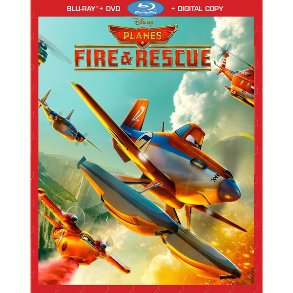 Planes: Fire And Rescue (Blu-ray/DVD) 13801074