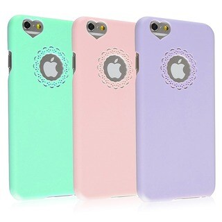 INSTEN Colorful Cute Girlish Hard Plastic Phone Case Cover for Apple iPhone 6 4.7-inch