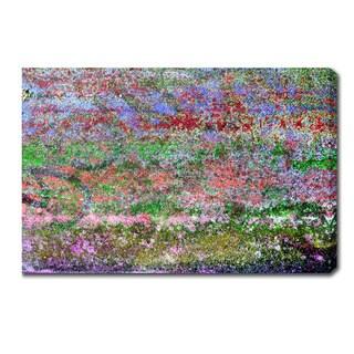 Claude Monet 'Having A Migraine' Oil on Canvas Art