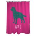 Thumbprintz Woof Shower Curtain