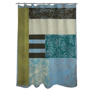 Thumbprintz Seafoam Shower Curtain