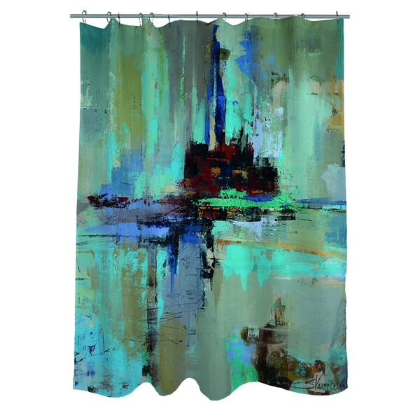 Thumbprintz Fjord Shower Curtain