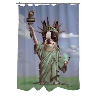Thumbprintz Liberty Shower Curtain