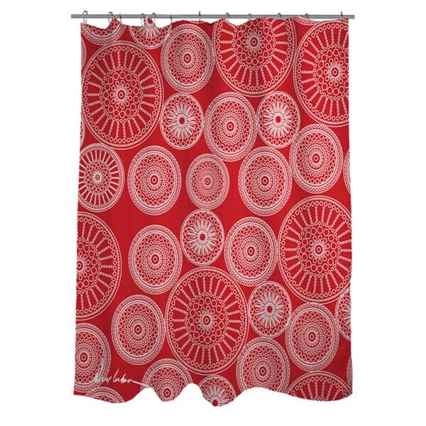 Thumbprintz Wheels Shower Curtain