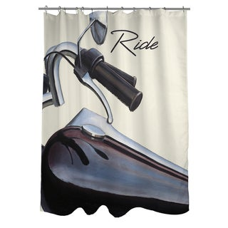 Thumbprintz Ride Shower Curtain