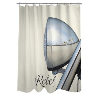 Thumbprintz Rebel Shower Curtain