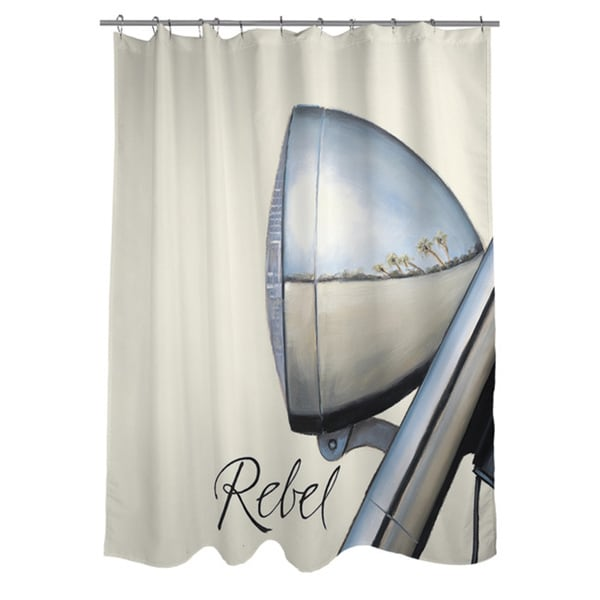 Thumbprintz Rebel Shower Curtain