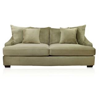 Furniture of America Parmes Beige Champion Fabric Sofa