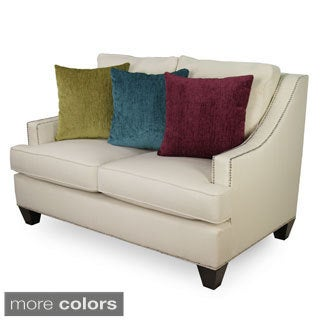 Furniture of America Colorful Tropak Padded Chenille Loveseat