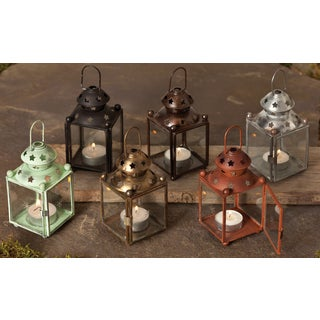 Colored Star Lanterns (Set of 6)