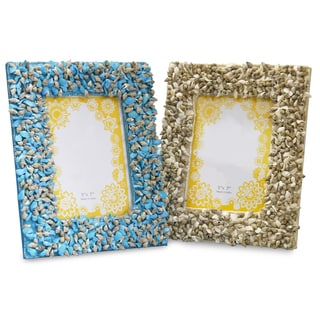 Sea Shell Frames (Set of 2)