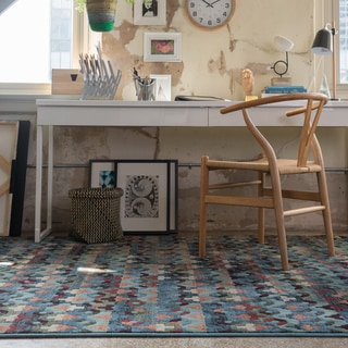 Senna Blue/ Multi Rug (9'3 X 12'2)