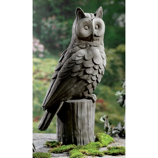 23-inch Large Owl Garden Statue