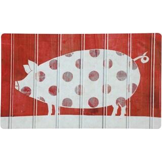 Indoor Comfort Polka Pig Mat (1'6 x 2'6)