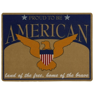 Outdoor American Spirit Doormat (1'6 x 2')