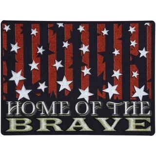 Outdoor Brave Stars Doormat (1'6 x 2')