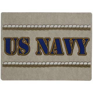 Outdoor Navy Rope Doormat (1'6 x 2')