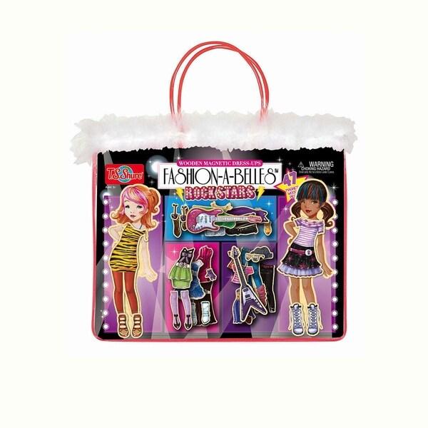 Fashion-A-Belles Rockstar Magnetic Dress-Up Dolls 13803927