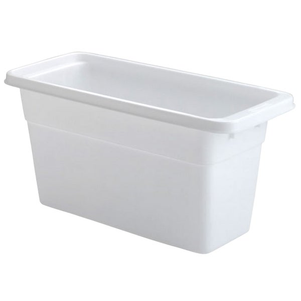 Rubbermaid White Ice Cube Bin