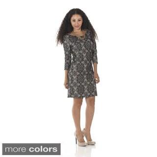 Women's 'Lacy Jane' Long-sleeve Dress
