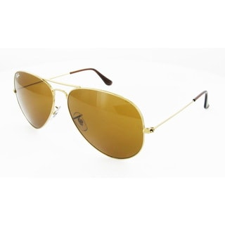 Ray-Ban Men's 'RB3025-001/33-62' Aviator Sunglasses