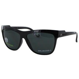 Electric Women's 'Caffeine' Gloss Black Nylon Grilamid Polarized Sunglasses
