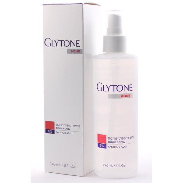 Glytone Back Acne 8-ounce 2-percent Salicylic Acid Spray