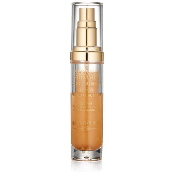 Hampton Sun Serious Shimmer Bronze 1-ounce Cooling Spray
