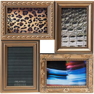 Melannco Multi Picture Frame Collage in Gold