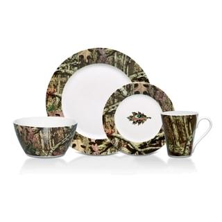 Mossy Oak Break Up Infintiy 16-piece Dinnerware Set