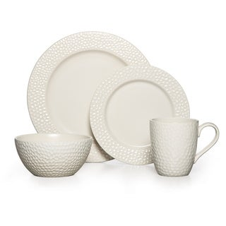 Gourmet Basics by Mikasa Hayes Stoneware 16-piece Dinnerware Set