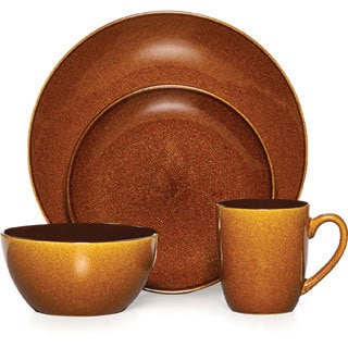Mikasa Gourmet Basics Lumina Honey 16-piece Dinnerware Set