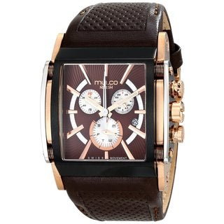 Mulco Men's 'Nefesh' ion-plated and rose tone Watch