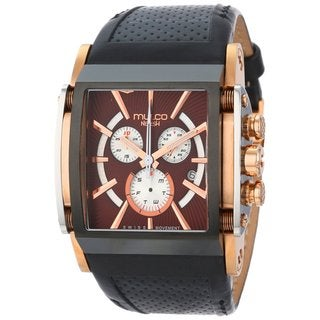 Mulco Men's 'Nefesh' ion-plated and rose gold steel Watch
