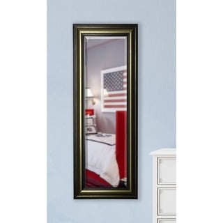 American Made Rayne Antiqued 24.5 x 63.5-inch Slender Body Mirror
