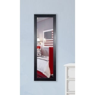 American Made Rayne Black Superior 20.5 x 59.5-inch Slender Body Mirror