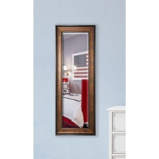 American Made Rayne Wooden Bronze 24.5 x 63.5-inch Slender Body Mirror