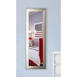 American Made Rayne Brushed Silver-tone 22 x 61-inch Slender Body Mirror
