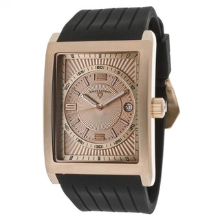Swiss Legend Men's SL-40012-RG-09 Limousine Black Silicone Watch