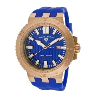 Swiss Legend Men's SL-10126-RG-03 Challenger Blue Watch