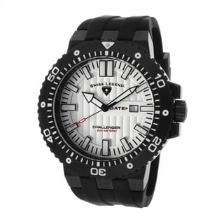 Swiss Legend Men's SL-10126-BB-02S Challenger Black Watch